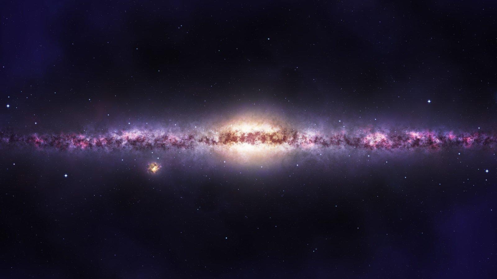 У спутника Млечного Пути нашли необычно много темной материи